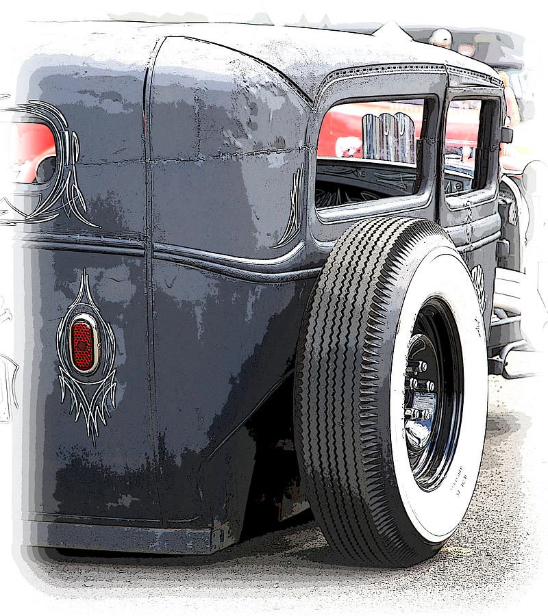 Chopped Photograph - Hot Rods Forever by Steve McKinzie