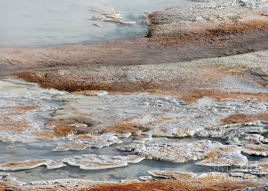 Hot Photograph - Hot Springs Abstract Two by Sabrina L Ryan