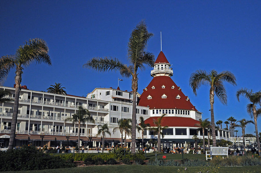 Coronado Photograph - Hotel Del Coronado  by Jonathan Whichard