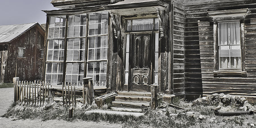 Bodie Photograph - House Of Windows by Richard Balison