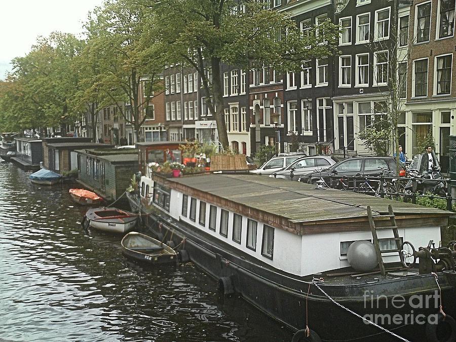 Rotterdam Photograph - Houseboats Of Rotterdam by Jennifer Sabir