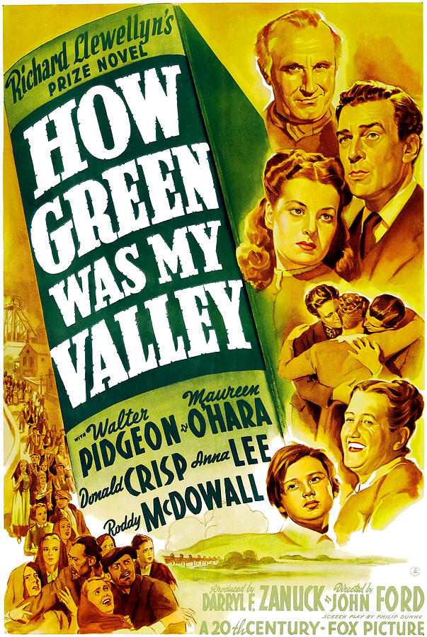 1940s Movies Photograph - How Green Was My Valley, Donald Crisp by Everett