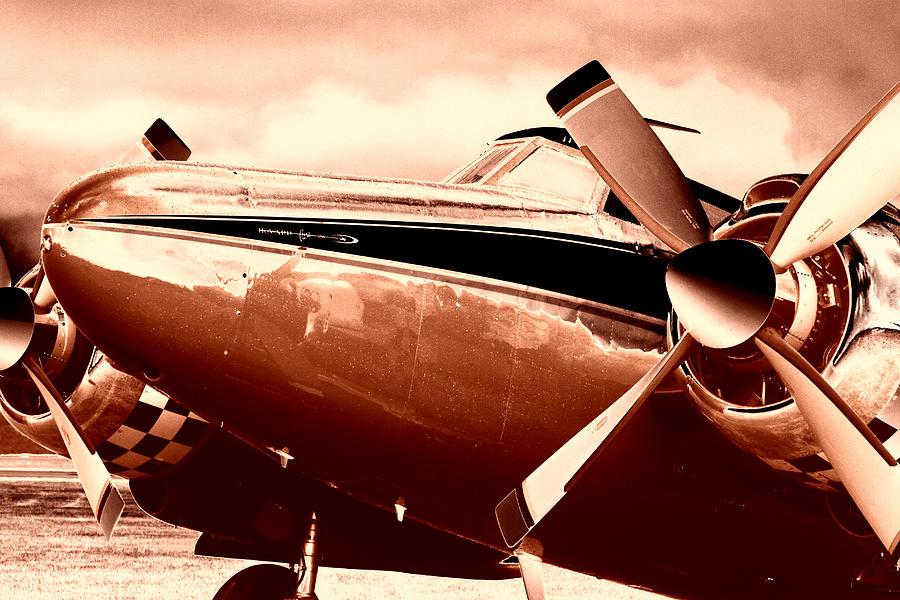 Airplane Photograph - Howard Aero 500 1960 by Maxwell Amaro
