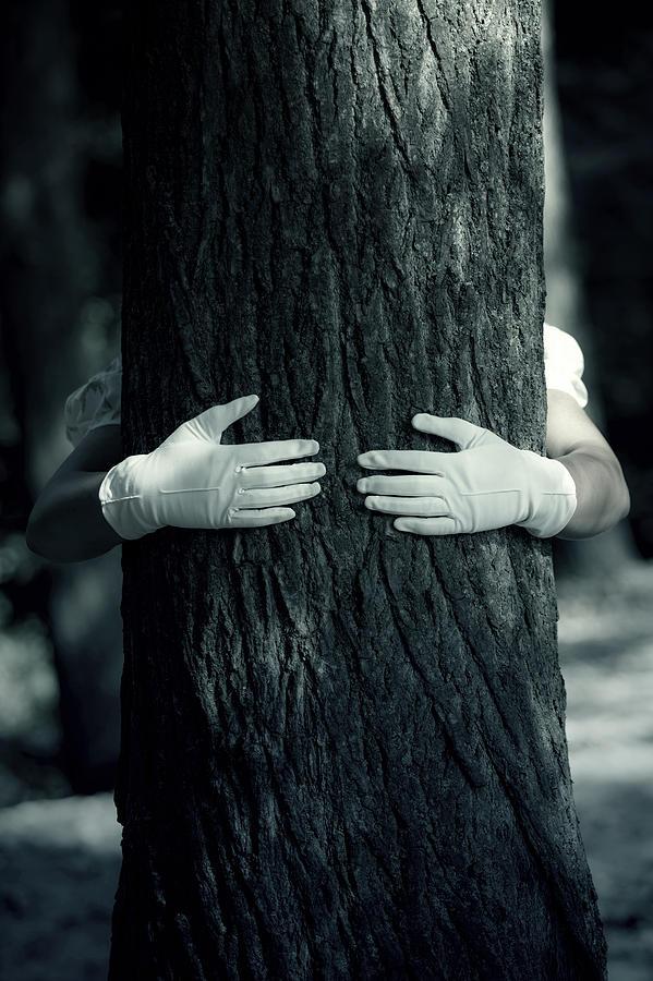 Hand Photograph - hug by Joana Kruse