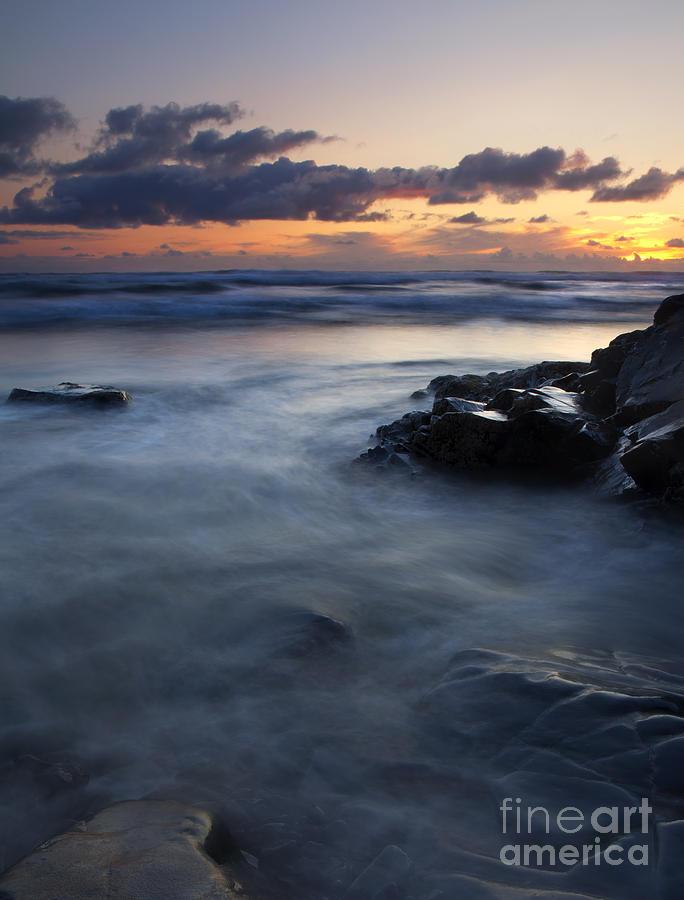 Seascape Photograph - Hug Point Sunset by Mike  Dawson