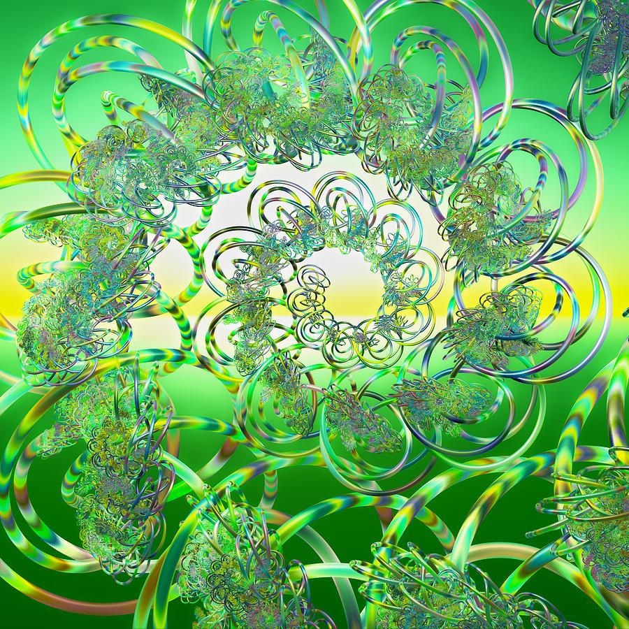 Hula Digital Art