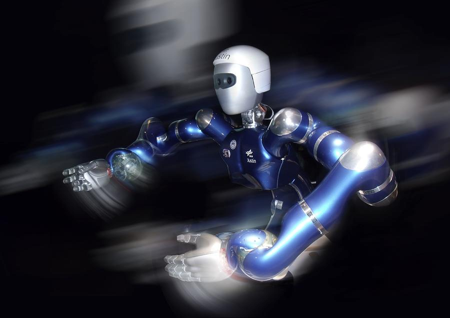 Jystin Photograph - Humanoid Robot, Artwork by Detlev Van Ravenswaay