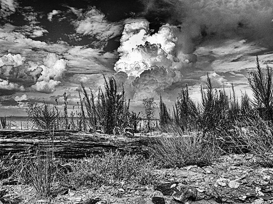 Hurricane Photograph - Hurricane Isaac Clouds by Joshua House
