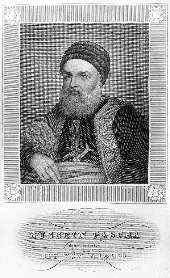 19th Century Photograph - Hussein Dey (1765-1838) by Granger