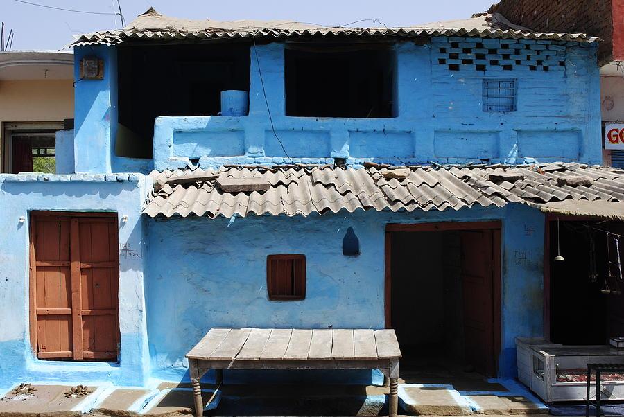 Hut In An Indian Village Photograph By Sumit Mehndiratta