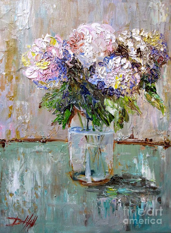 Hydrangea Oil Painting