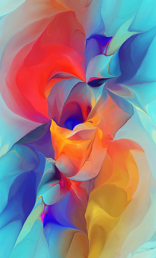 Abstracts Digital Art - I Am So Glad by David Lane