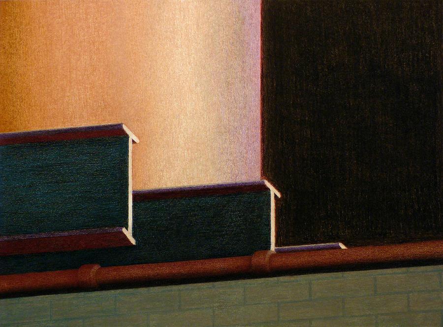 I-beam Pastel - I-beam by Norm Holmberg
