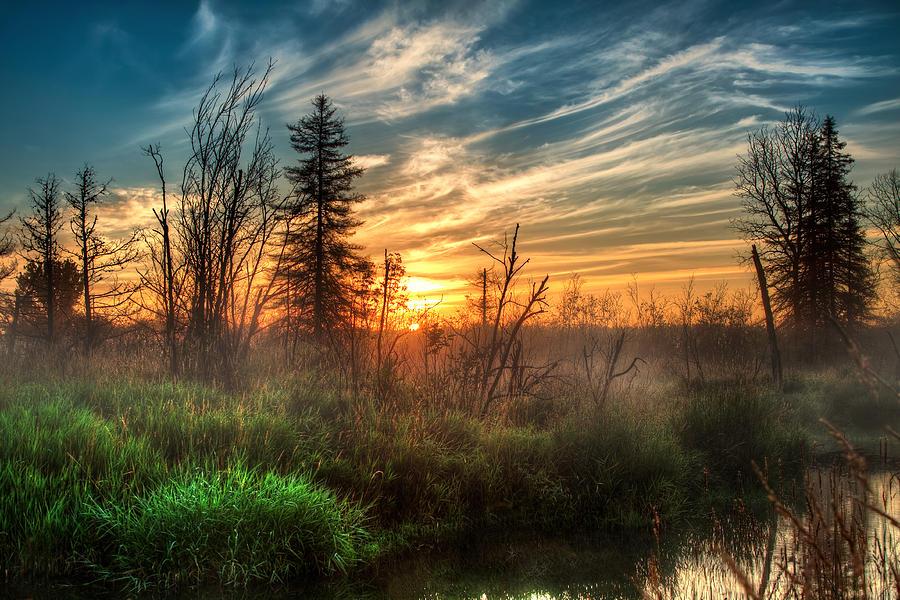 Sunrise Photograph - I Believe by Gary Smith