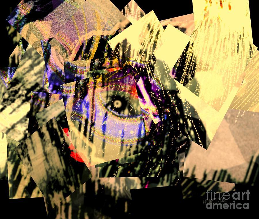 Fania Simon Digital Art - I Crumble Before Him by Fania Simon