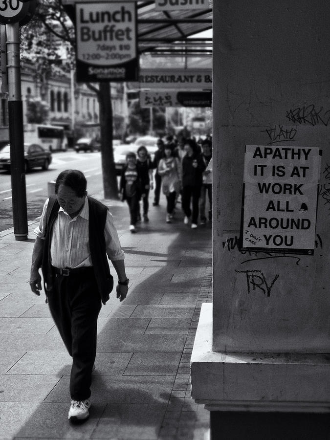 Apathy Photograph - I Dont Care  by Dennis William Gaylor