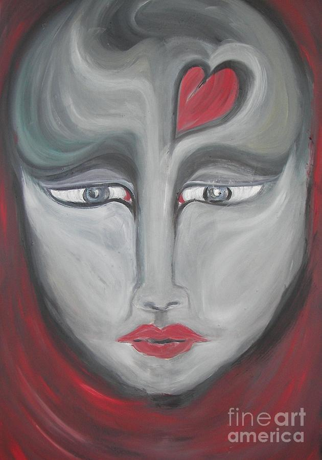 Oils Painting - I Have Loved And Lost by Rachel Carmichael