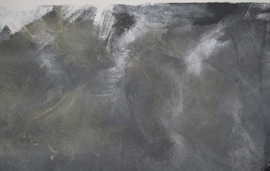 Abstract Painting - I Have Watched Death 3 by Artist Named Iesha