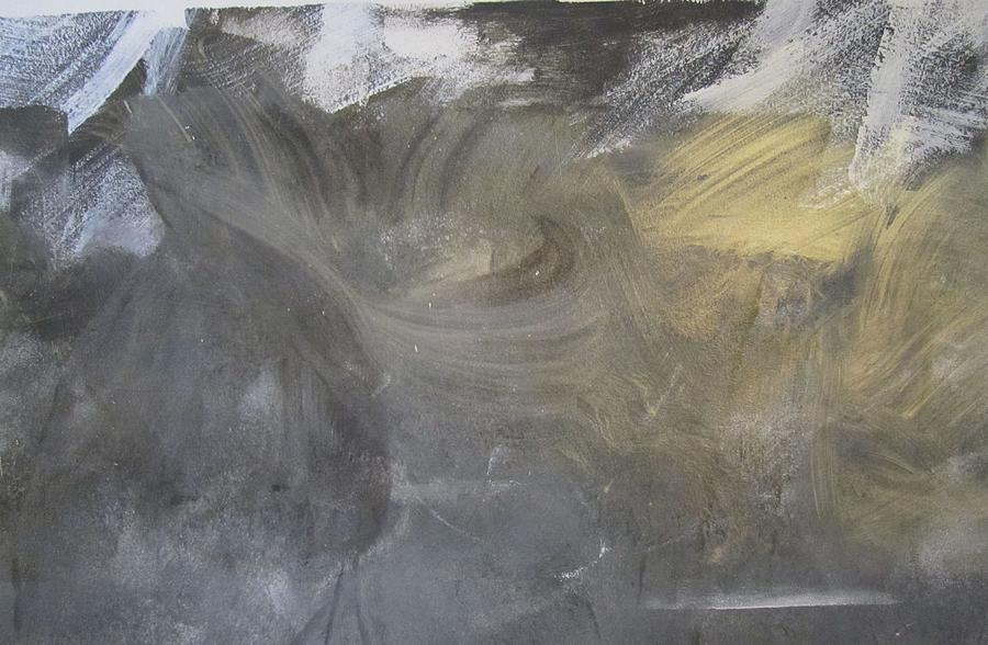 Abstract Painting - I Have Watched Death  by Artist Named Iesha