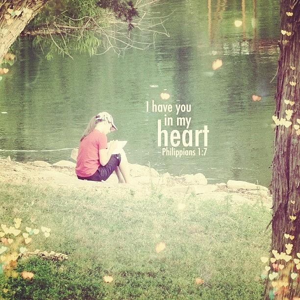 Heart Photograph - ...i Have You In My Heart... by Traci Beeson