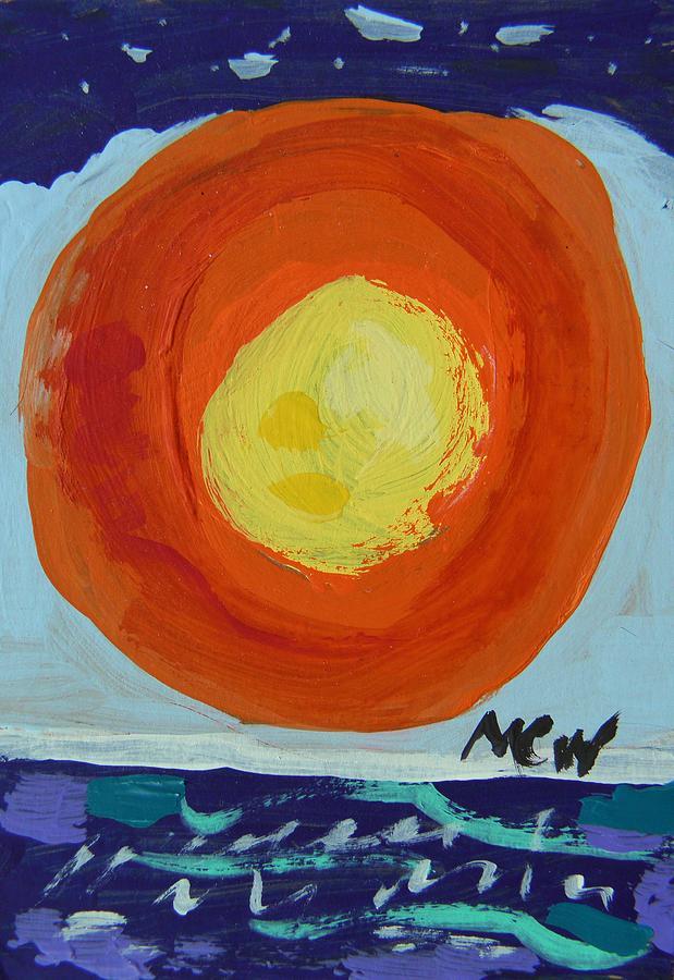 Sun Painting - I Like A Full Sun by Mary Carol Williams