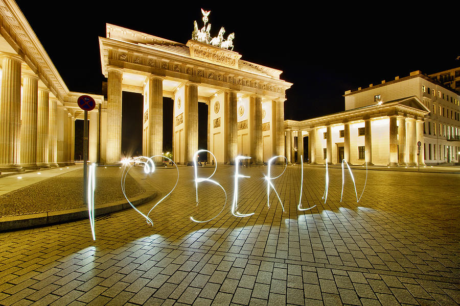 Germany Photograph - I Love Berlin by Marcus Klepper