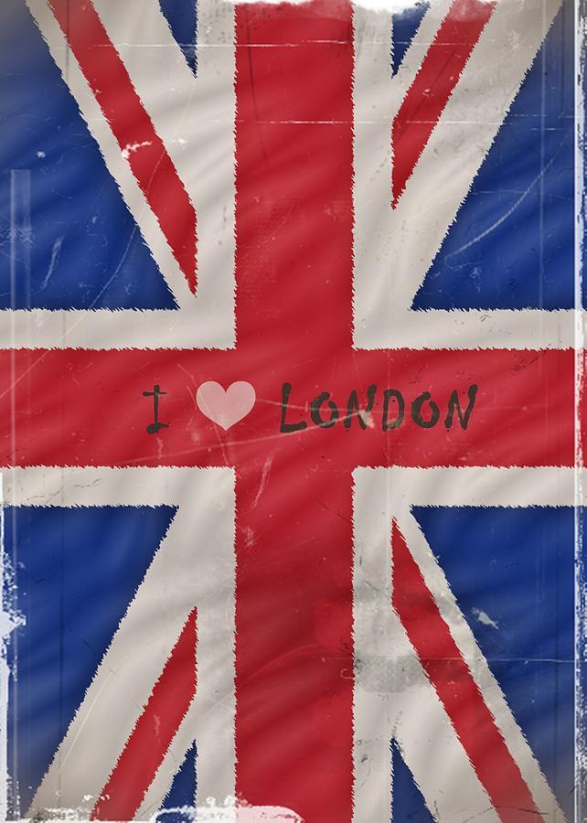 London Photograph - I Love London by Sharon Lisa Clarke