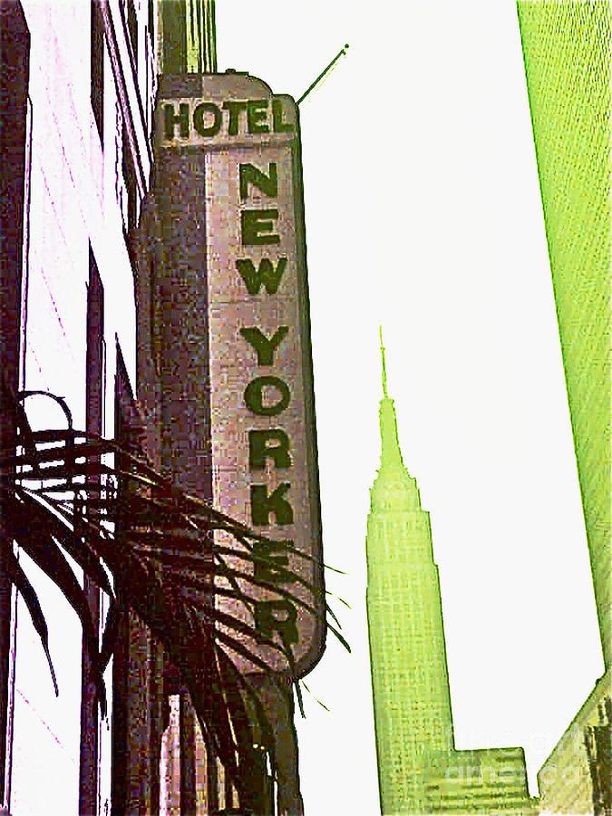 Ny Photograph - I Love New York by Beth Saffer