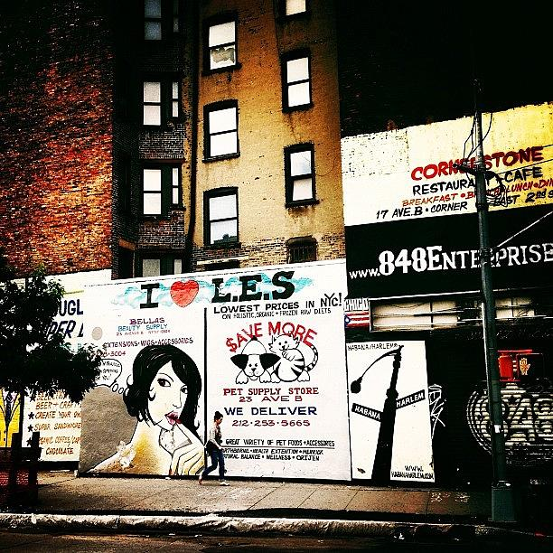 New York City Photograph - I Love The Lower East Side - New York City by Vivienne Gucwa
