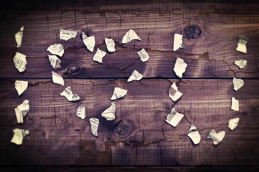 Letter Photograph - I Love You by Joana Kruse