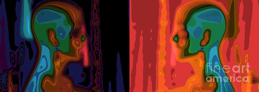Color Photograph - I Love You by Stelios Kleanthous