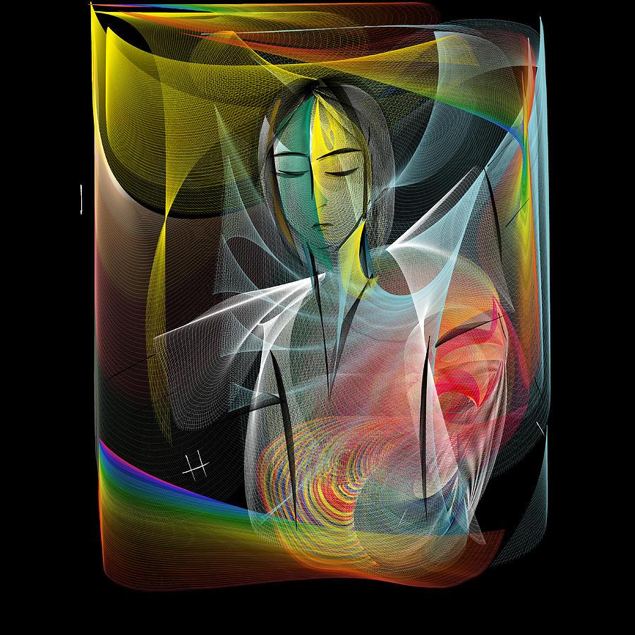 Digital Painting Digital Art - I Need Me by Hayrettin Karaerkek