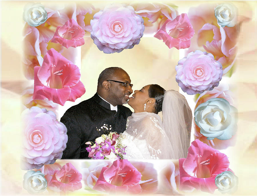 Wedding Digital Art - I Pronounce You Husband And Wife by Terry Wallace