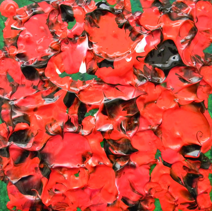Remembrance Day Painting - I Remember by Marwan George Khoury