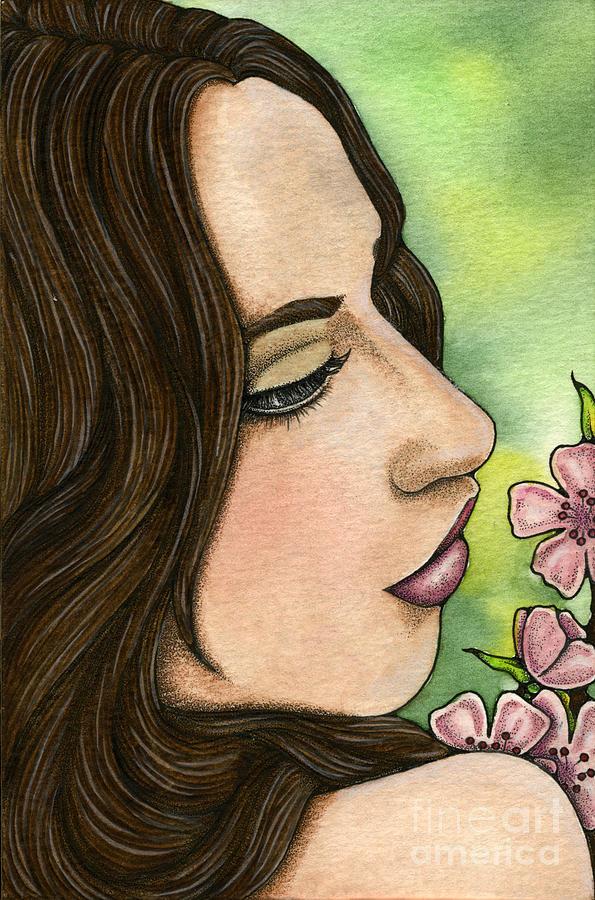 I Painting - I Remember by Nora Blansett