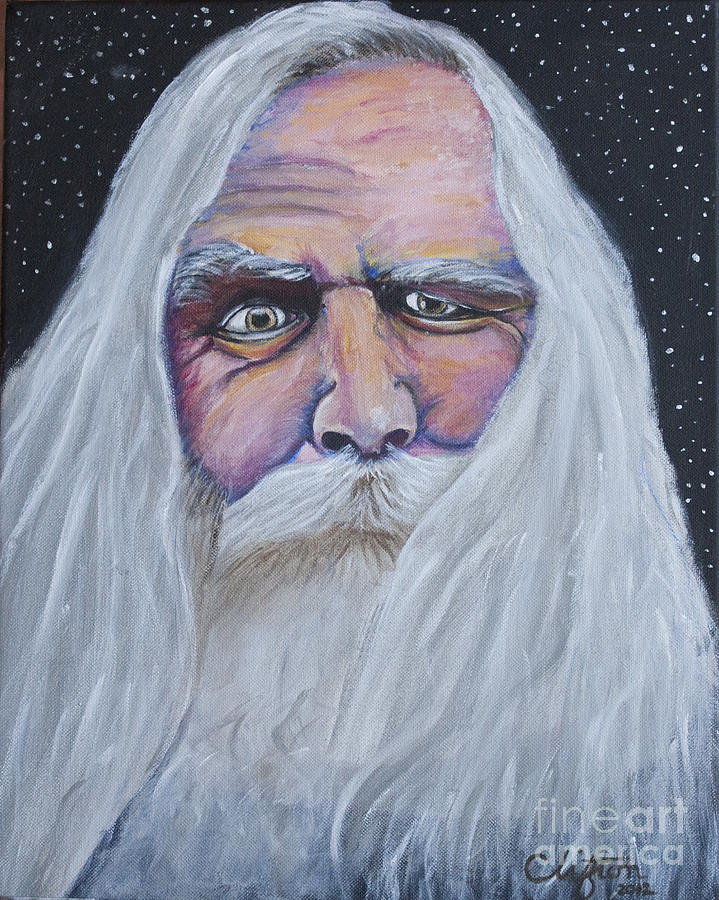 God Painting - I See Thy Eye by Sandy Clifton