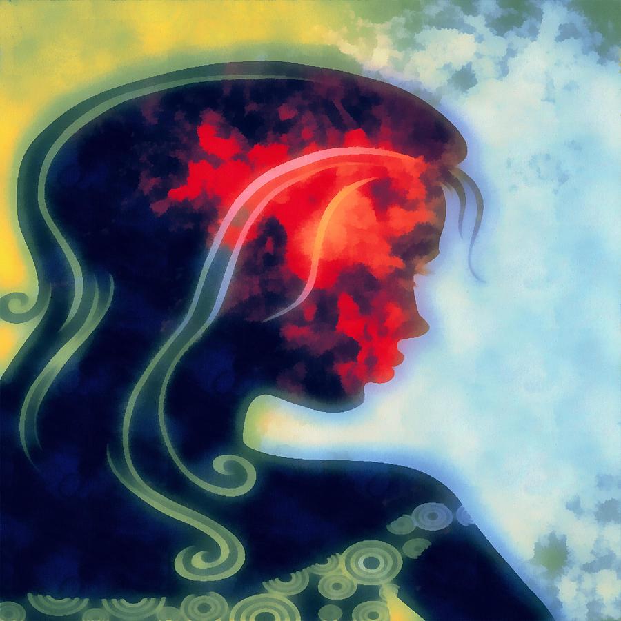 Wonder Digital Art - I Walked Away 2 by Angelina Vick