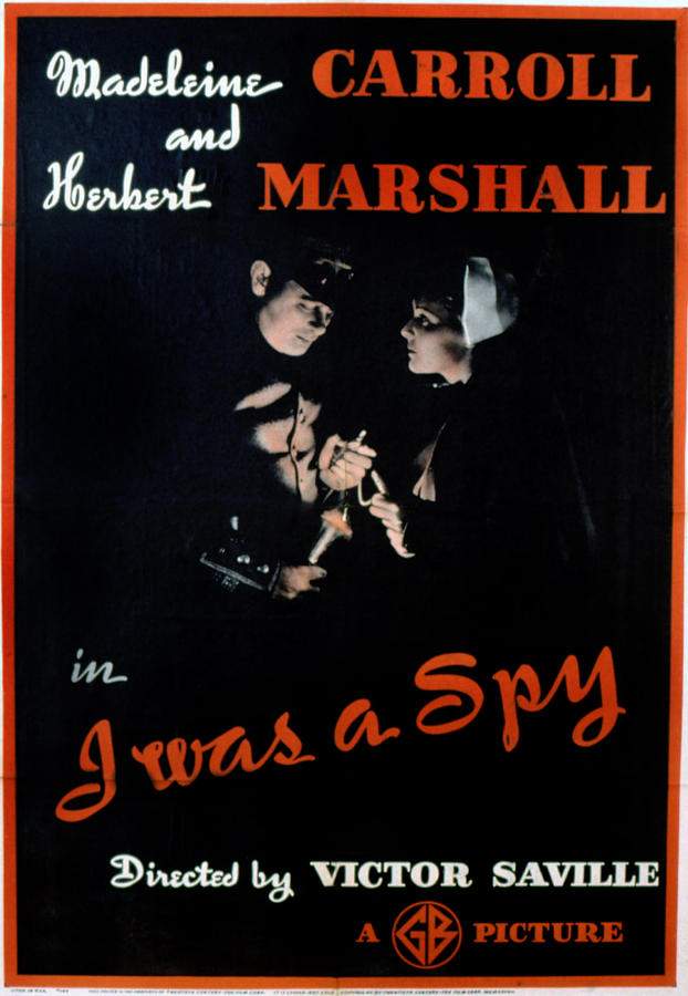 1930s Movies Photograph - I Was A Spy, Herbert Marshall by Everett
