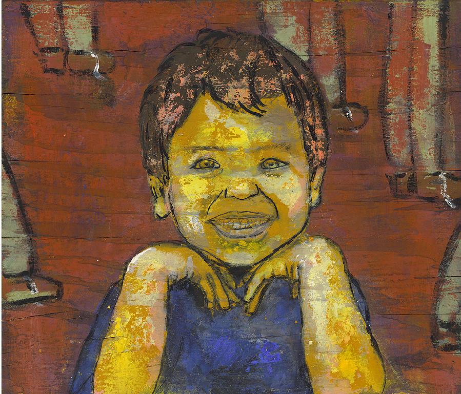 Portrait Painting - Ian by Eric Atkisson