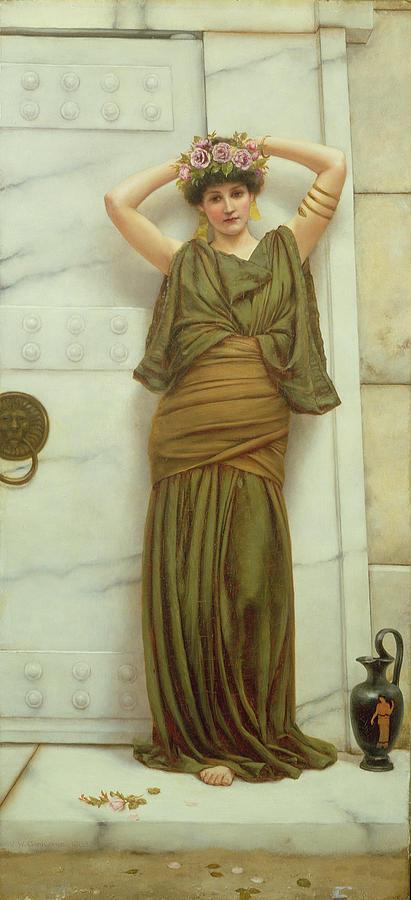 Ianthe Painting - Ianthe by John William Godward