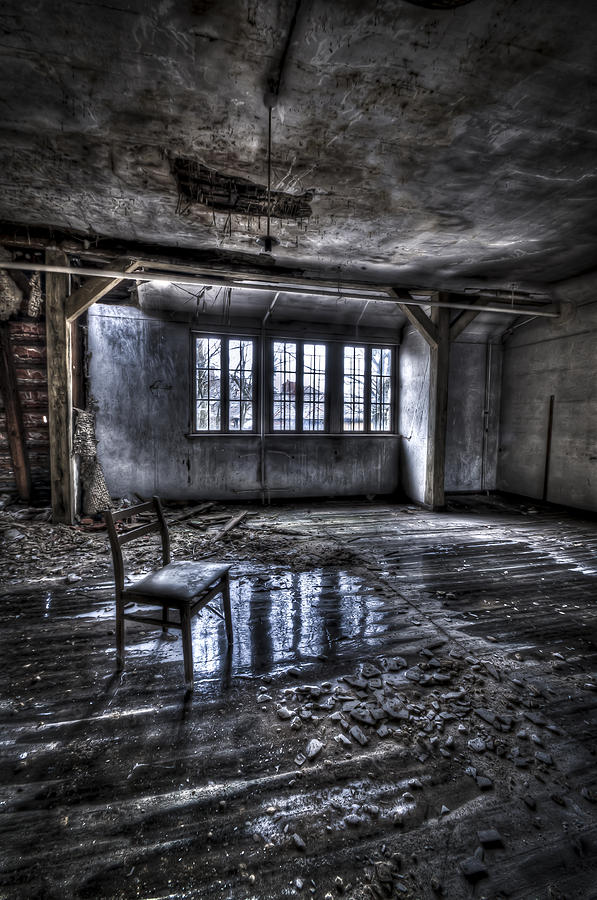 Room Photograph - Ice Chair by Nathan Wright