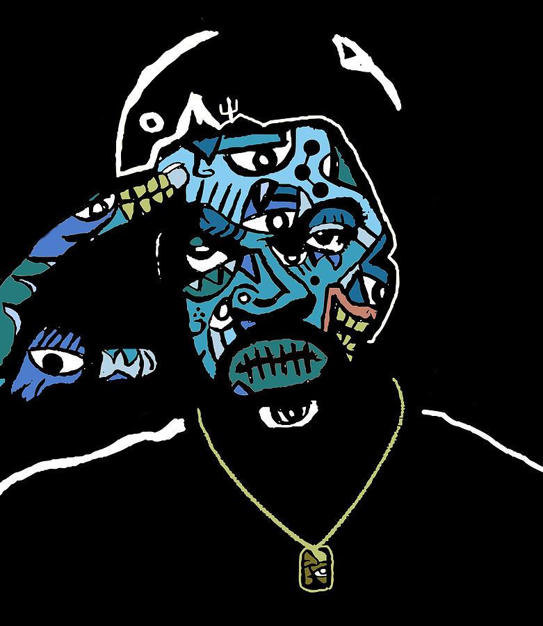 Icecube Digital Art - Ice Cube by Kamoni Khem
