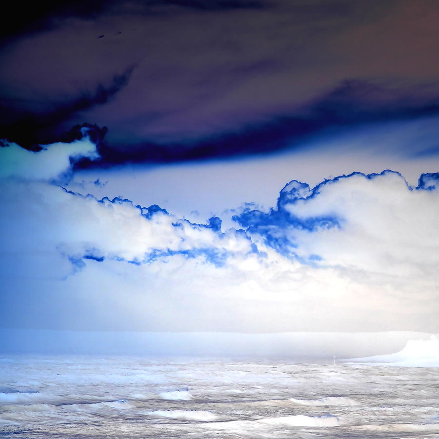 Storm Clouds Photograph - Ice Storm by Sharon Lisa Clarke