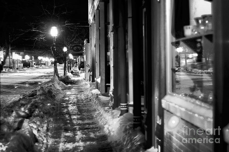 Ice Walk Photograph