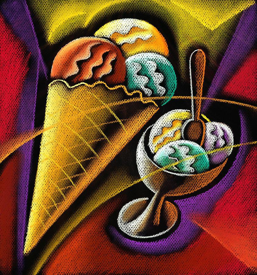 Icecream Pastel by Leon Zernitsky