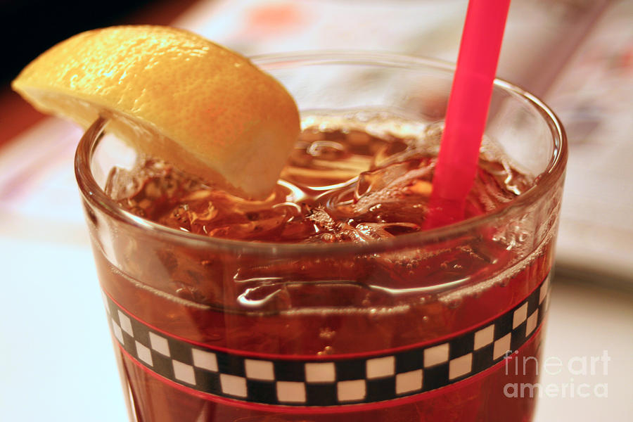 Iced Tea Photograph - Iced Tea by Susan Stevenson