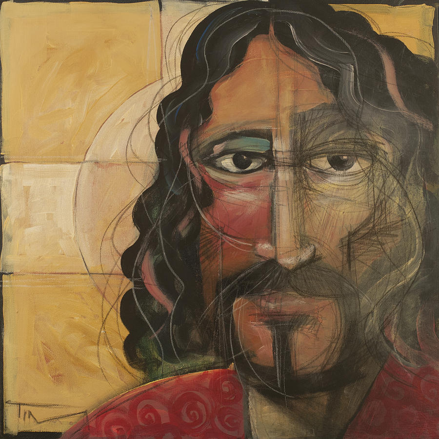 Icon Painting - icon no 4 revision A by Tim Nyberg
