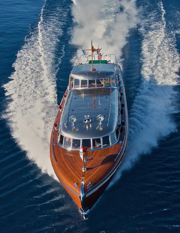 Hacker Boats Photograph - Iconic Thunderbird by Steven Lapkin