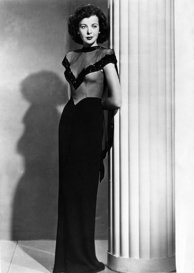 1940s Fashion Photograph - Ida Lupino, 1945 by Everett