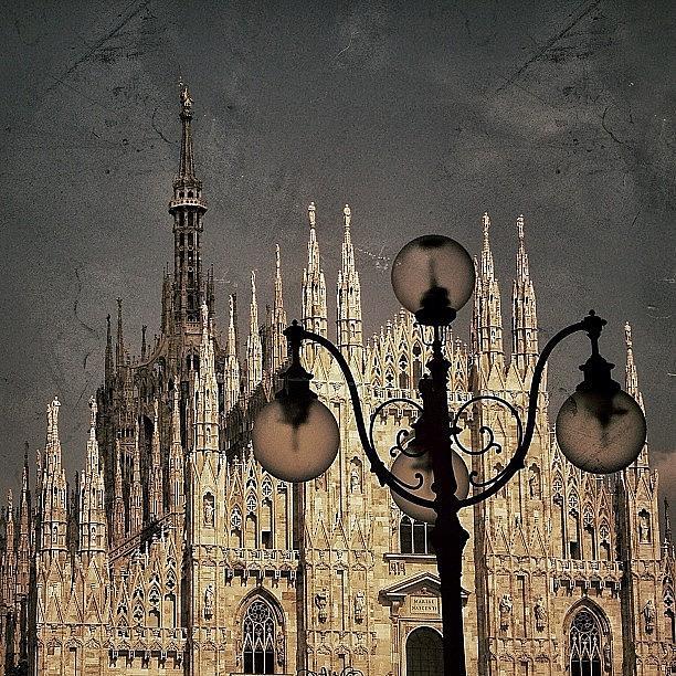 Italy Photograph - Il Duomo Di Milano - Milano by Joel Lopez